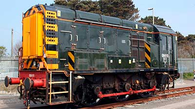 Британский маневровый локомотив British Rail Class 08